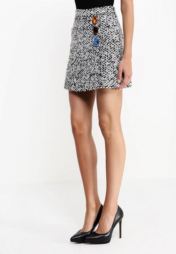 Прямая юбка Boutique Moschino A011558181002: изображение 2