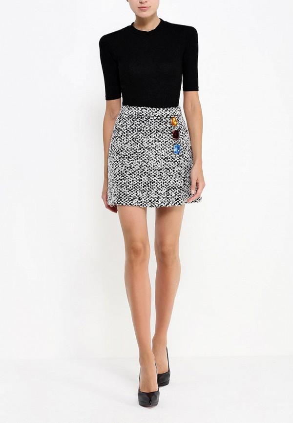 Прямая юбка Boutique Moschino A011558181002: изображение 3
