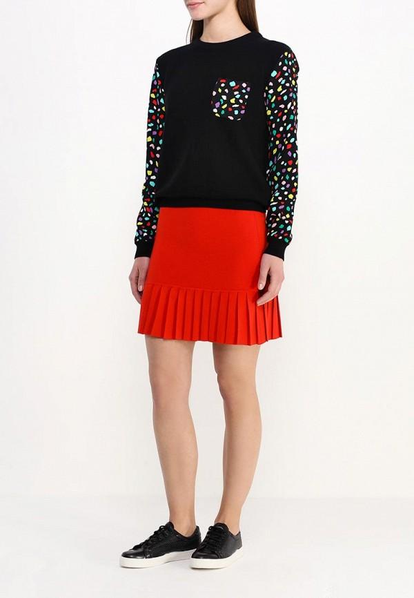 Прямая юбка Boutique Moschino A01801101: изображение 3
