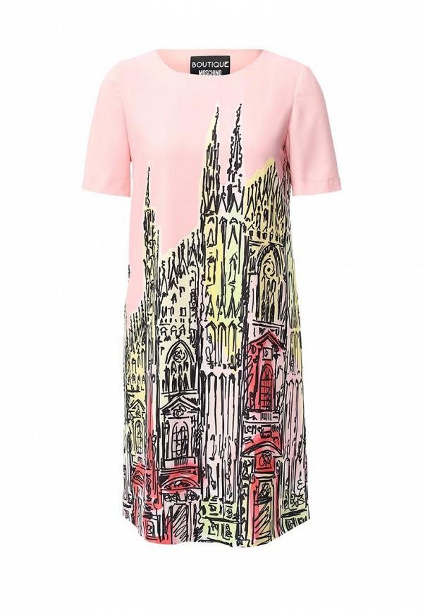 Платье-миди Boutique Moschino A0434: изображение 1