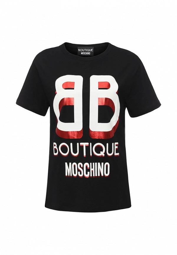 Футболка с надписями Boutique Moschino j1203
