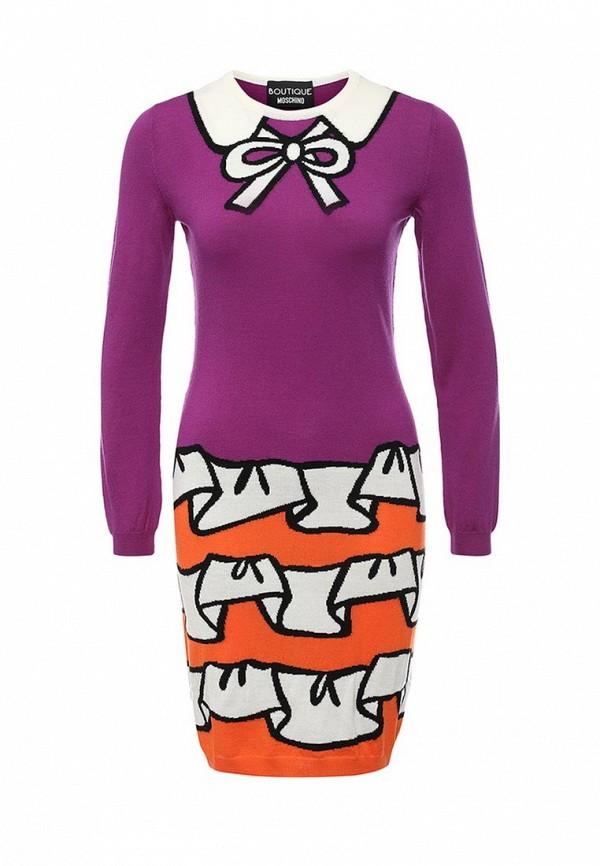 Вязаное платье Boutique Moschino A0484: изображение 1