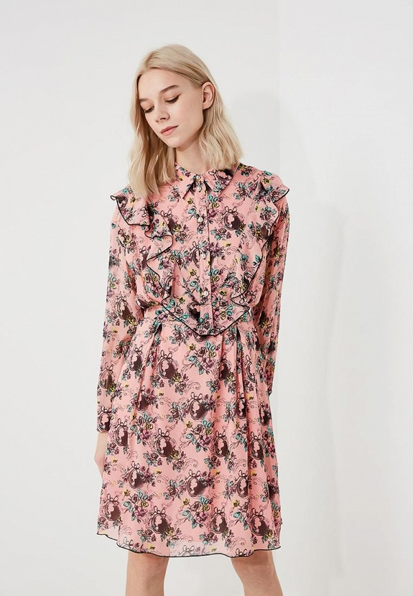 Платье Boutique Moschino Boutique Moschino BO036EWYWF29 платье boutique moschino boutique moschino bo036ewpzi38