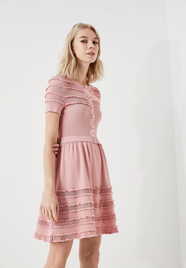 Платье Boutique Moschino Boutique Moschino BO036EWYWF31 платье boutique moschino boutique moschino bo036ewpzi38