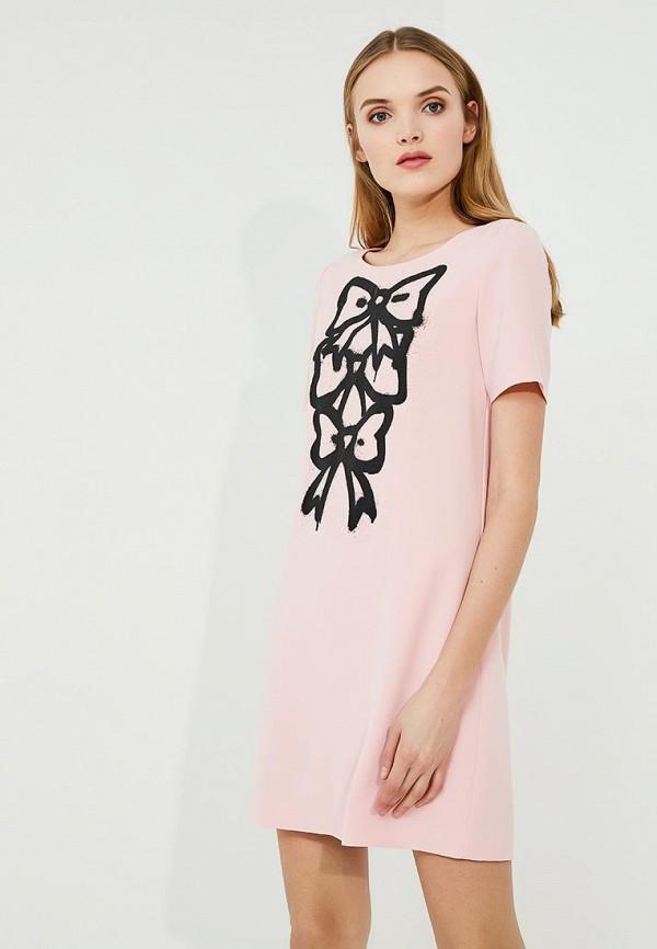Платье Boutique Moschino Boutique Moschino BO036EWYWF35 платье boutique moschino boutique moschino bo036ewufp29