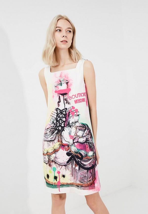 Платье Boutique Moschino Boutique Moschino BO036EWYWF39 платье boutique moschino boutique moschino bo036ewpzi38