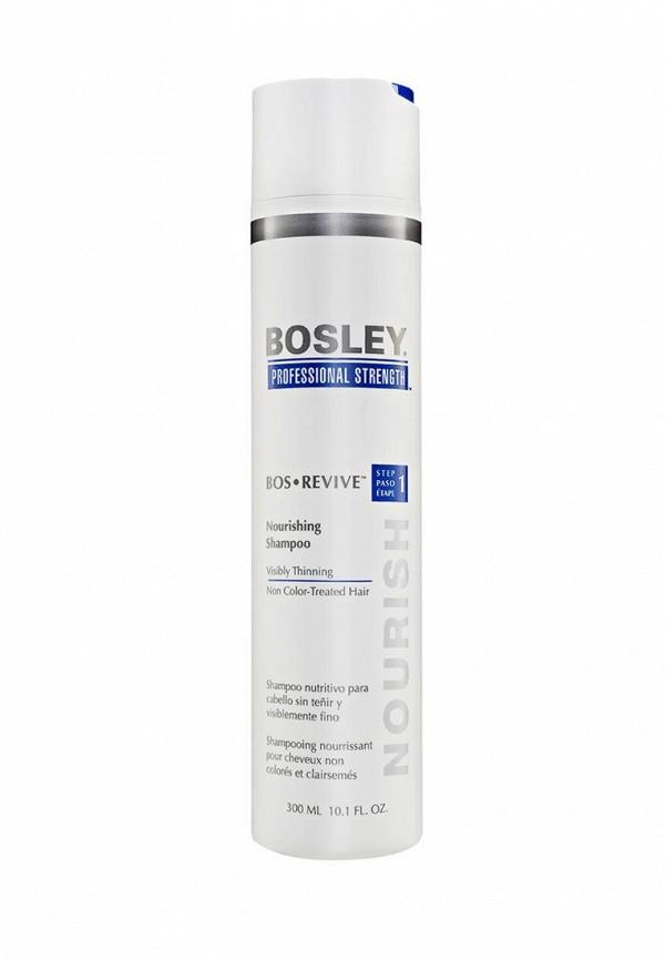 Шампунь Bosley питательный для истонченных неокрашенных волос, 300 мл