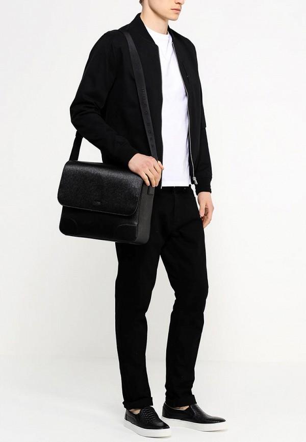 Кожаная сумка Boss 50248834: изображение 4