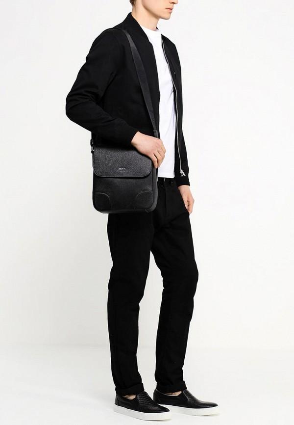 Кожаная сумка Boss 50261599: изображение 4