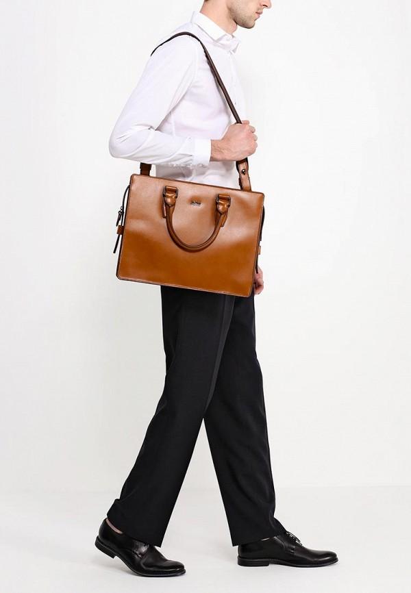 Кожаная сумка Boss 50285782: изображение 4