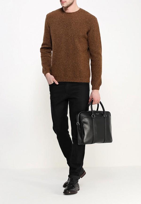 Кожаная сумка Boss 50311731: изображение 4