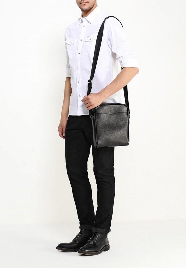 Кожаная сумка Boss 50311735: изображение 4