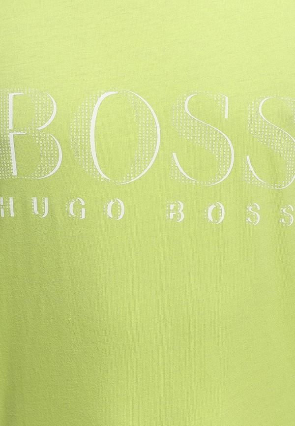 Футболка с надписями Boss 50220846: изображение 6