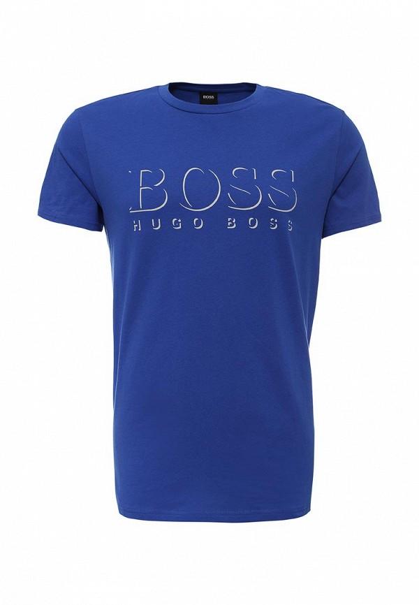 Футболка с надписями Boss 50286756: изображение 5