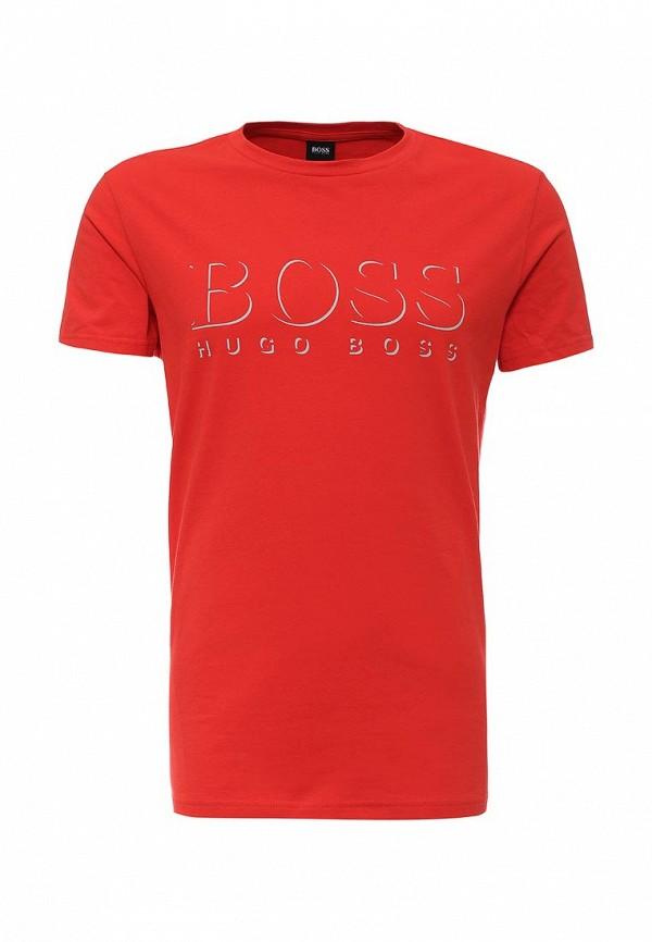 Футболка с надписями Boss 50286756: изображение 1