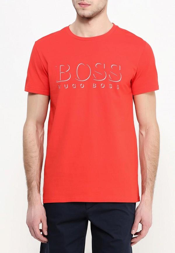 Футболка с надписями Boss 50286756: изображение 3