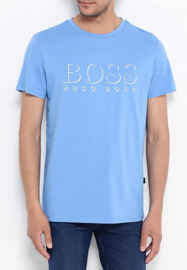 Футболка с надписями Boss 50286756: изображение 12