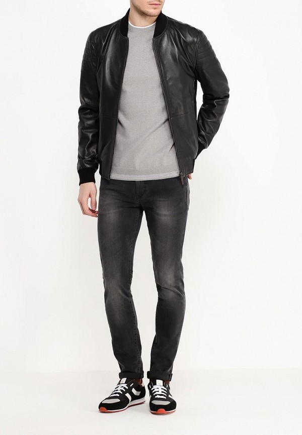 Кожаная куртка Boss 50314528: изображение 4