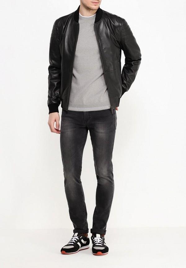 Кожаная куртка Boss 50314528: изображение 6