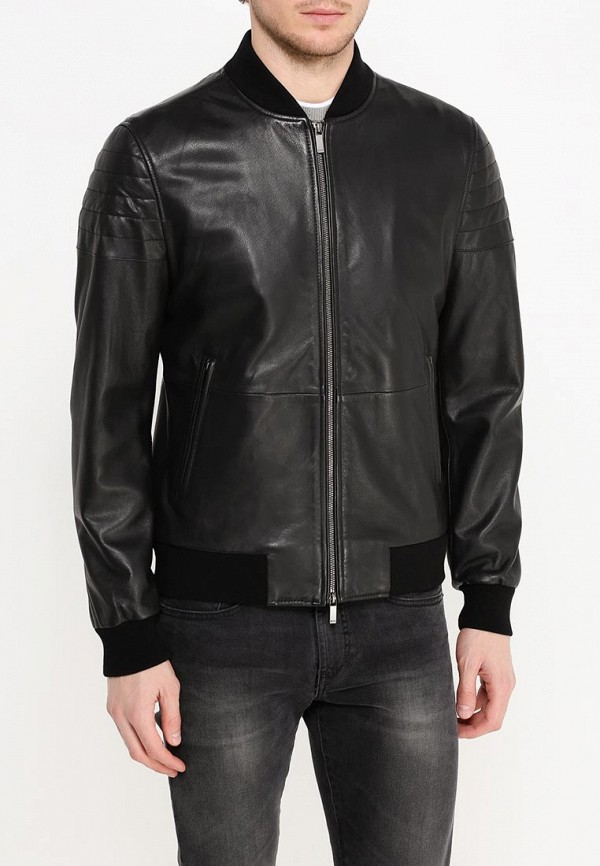 Кожаная куртка Boss 50314528: изображение 8
