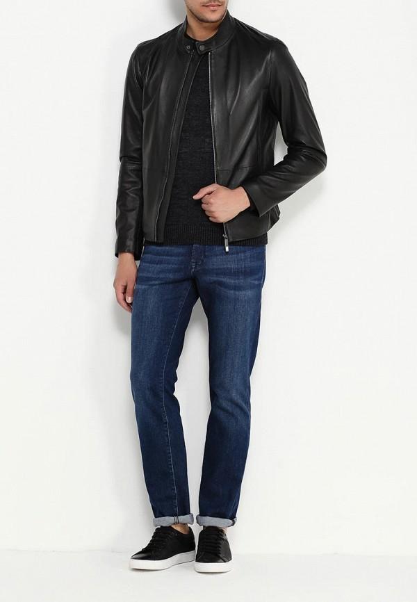 Кожаная куртка Boss 50314442: изображение 2