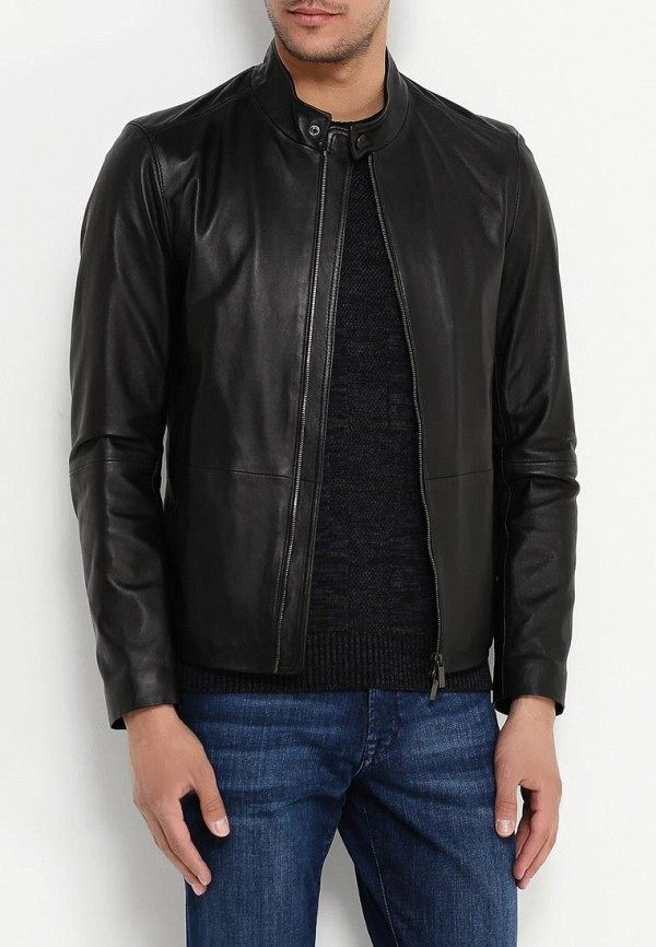 Кожаная куртка Boss 50314442: изображение 3
