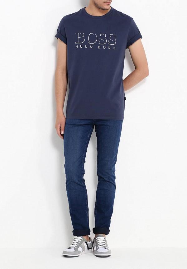 Зауженные джинсы Boss 50315715: изображение 2