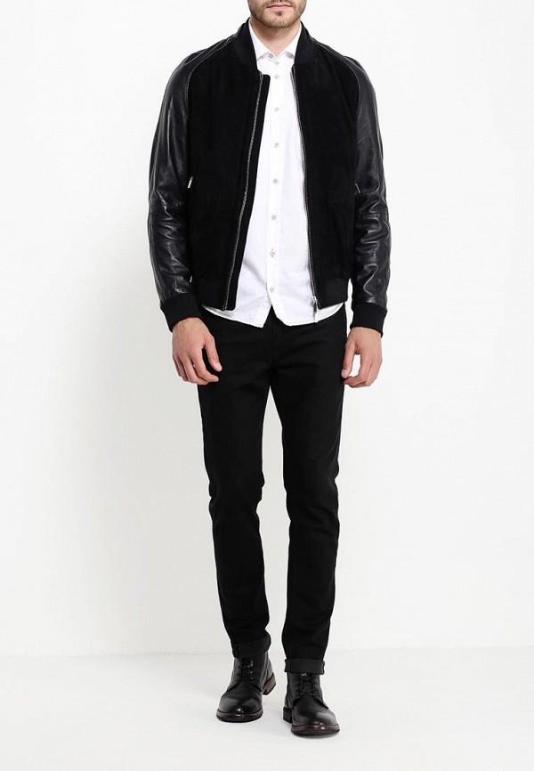 Кожаная куртка Boss 50321569: изображение 2
