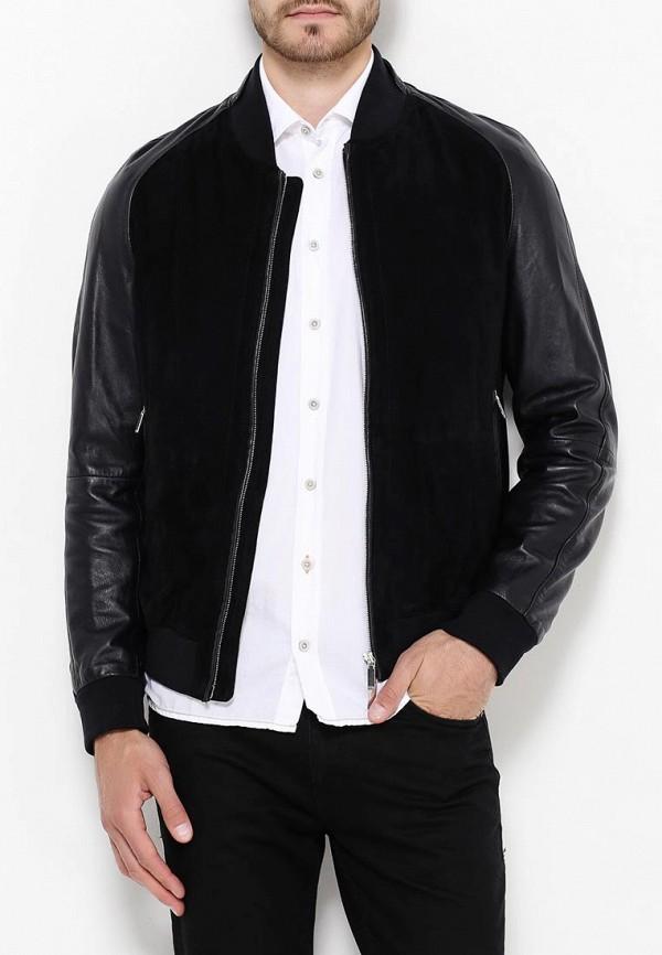 Кожаная куртка Boss 50321569: изображение 3