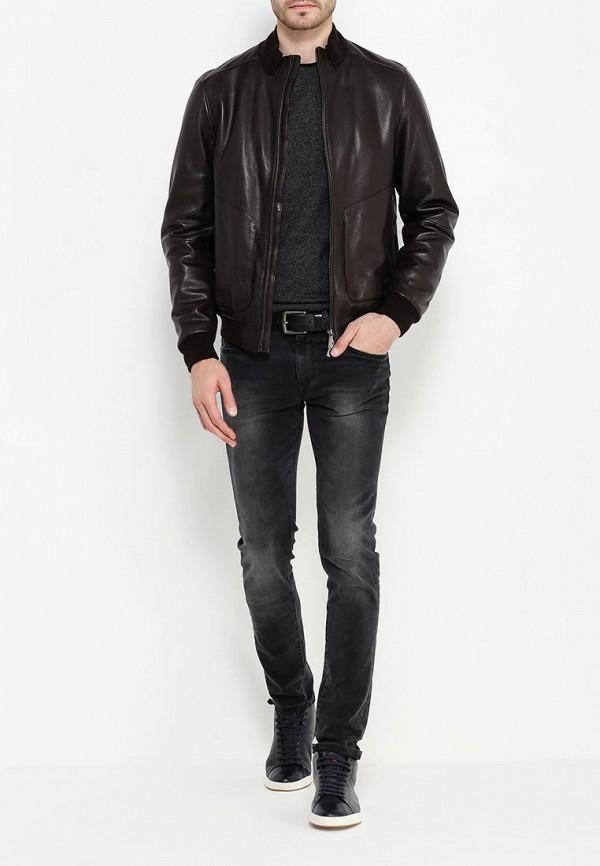 Кожаная куртка Boss 50321382: изображение 2