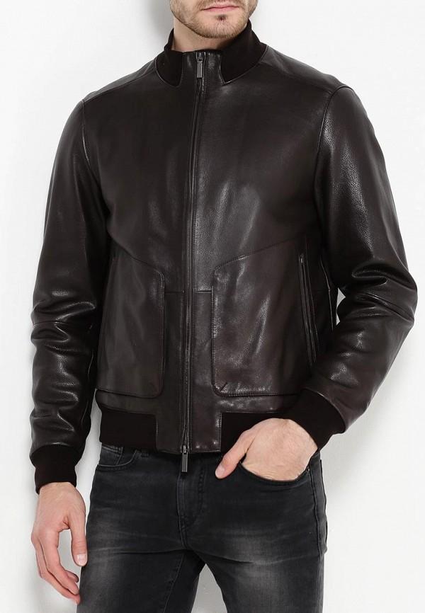 Кожаная куртка Boss 50321382: изображение 3