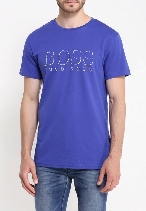 Футболка с надписями Boss 50320719: изображение 3