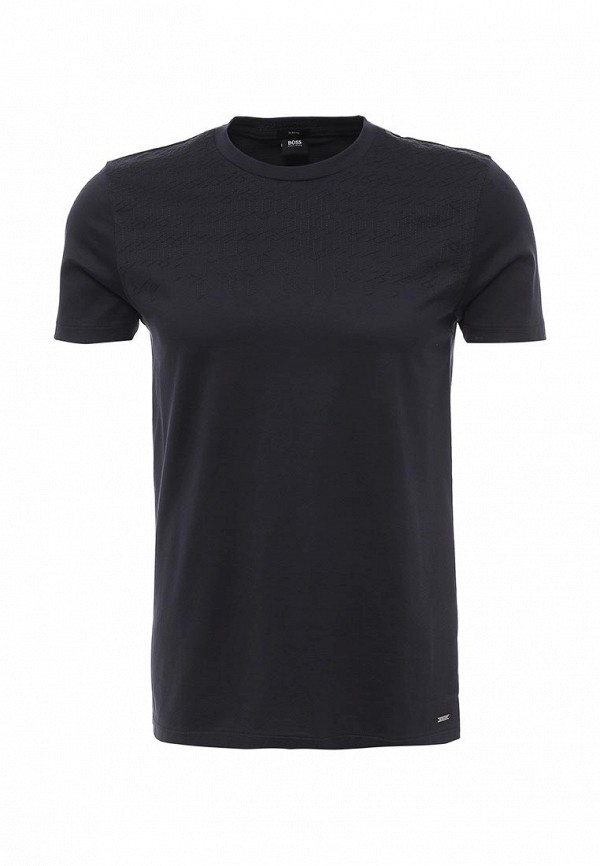 Фото - мужскую футболку Boss синего цвета