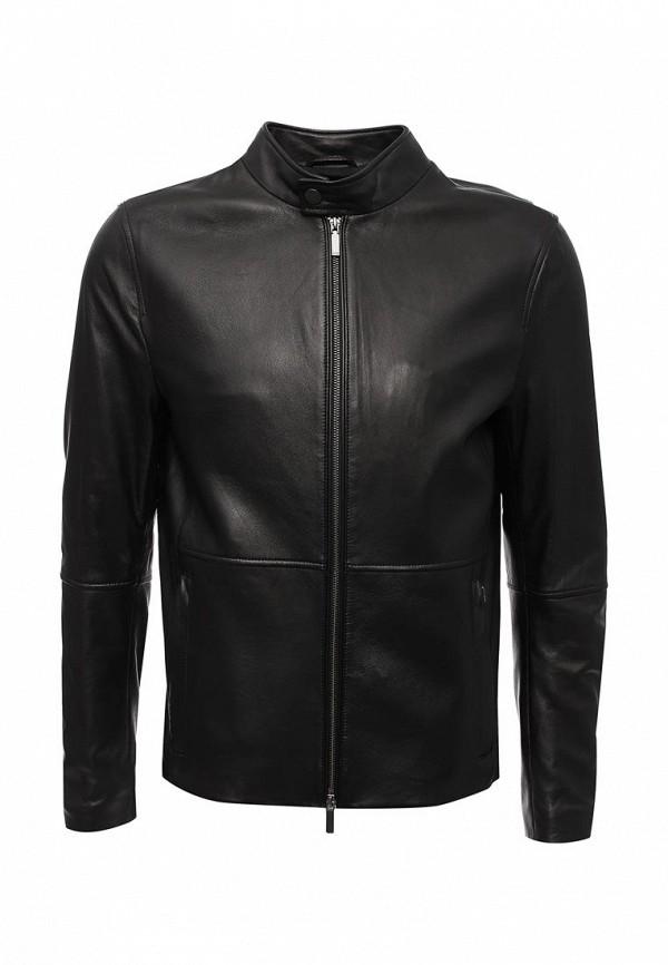 Фото Куртка кожаная Boss Hugo Boss. Купить с доставкой