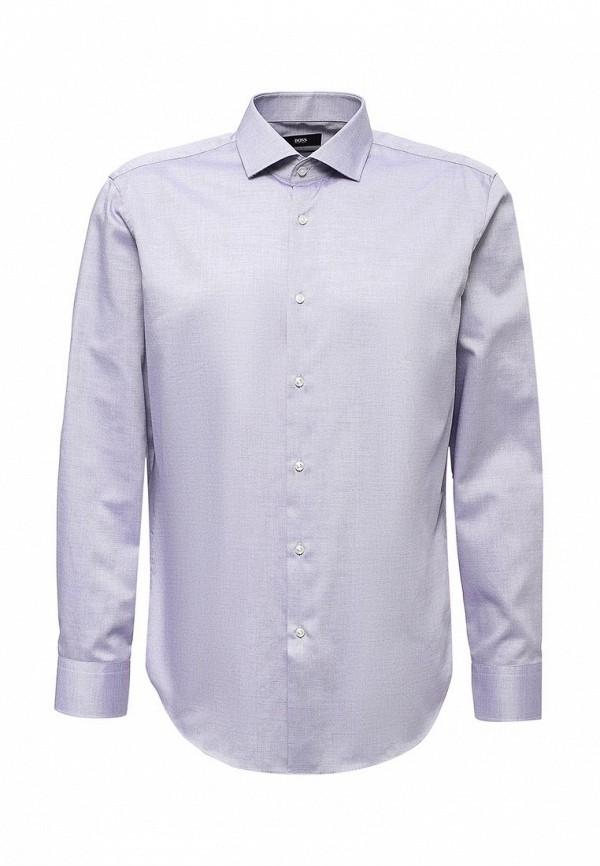 Рубашка Boss. Цвет: фиолетовый