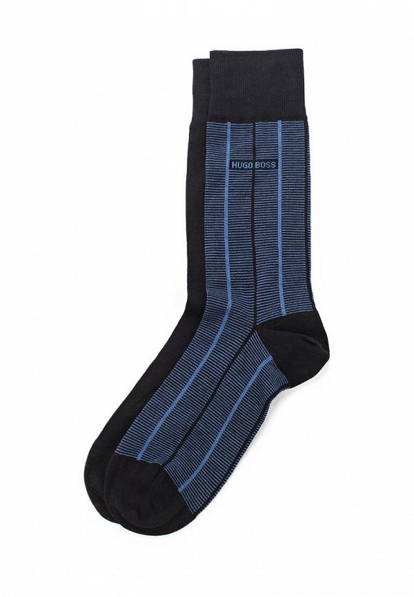 Комплект носков 2 пары Boss. Цвет: синий