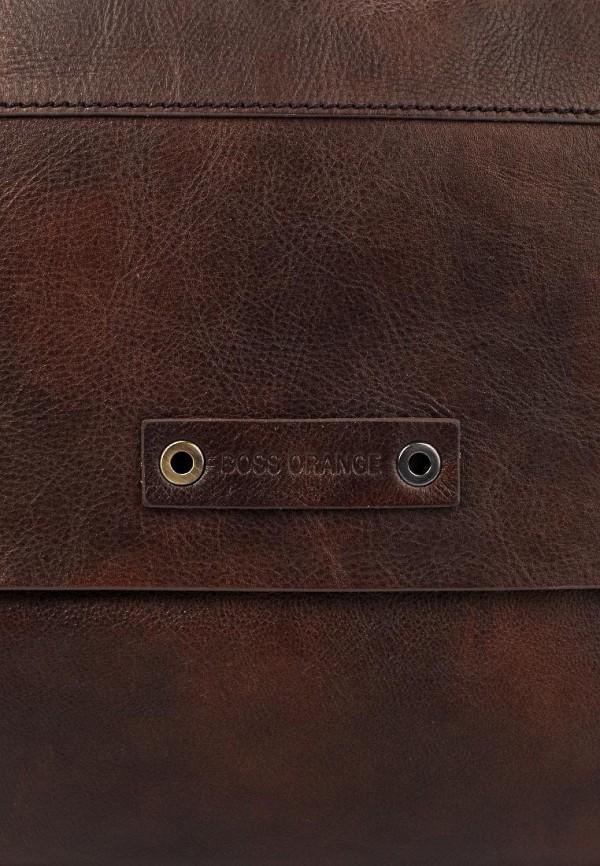 Кожаная сумка Boss Orange 50274020: изображение 5