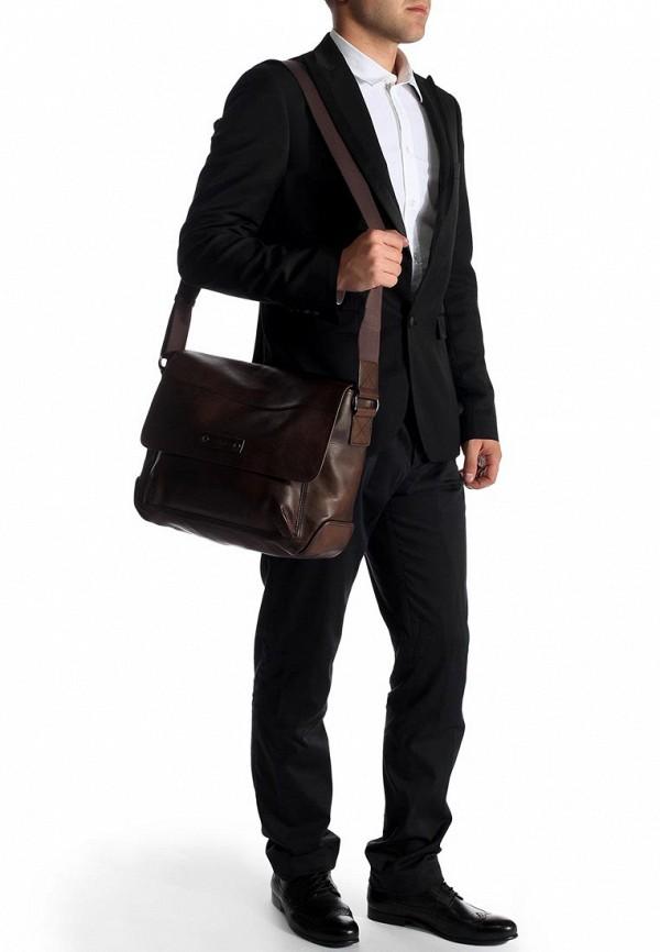 Кожаная сумка Boss Orange 50274020: изображение 9