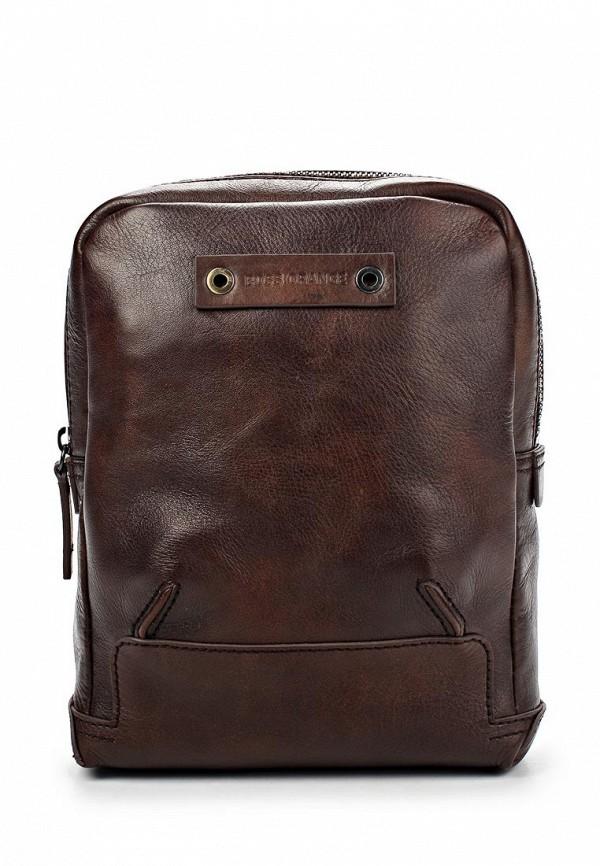 Кожаная сумка Boss Orange 50274031: изображение 1