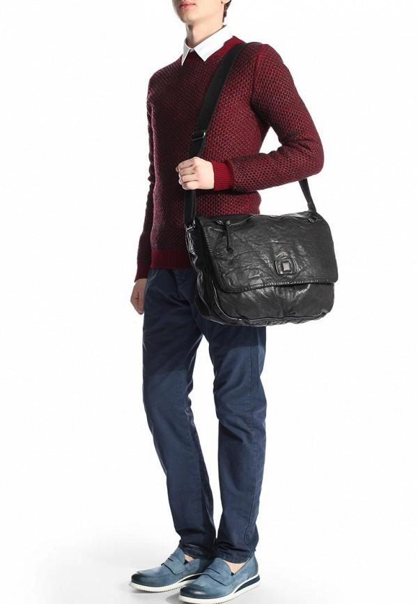 Кожаная сумка Boss Orange 50285610: изображение 3