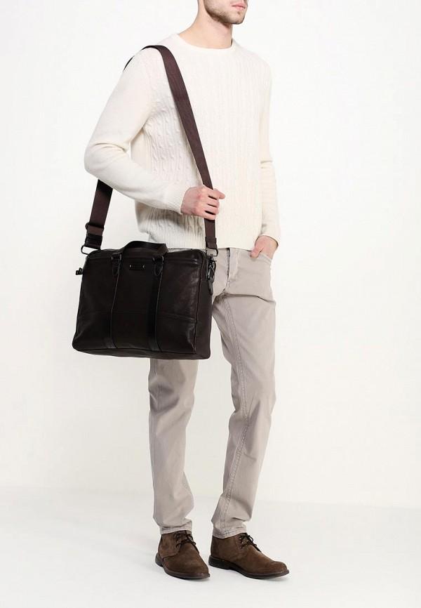 Кожаная сумка Boss Orange 50311709: изображение 4