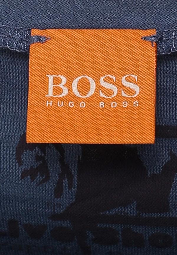 Футболка с надписями Boss Orange 50259557: изображение 4