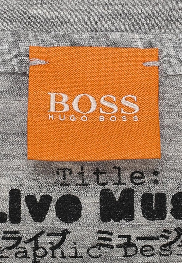 Футболка с коротким рукавом Boss Orange 50259581: изображение 4