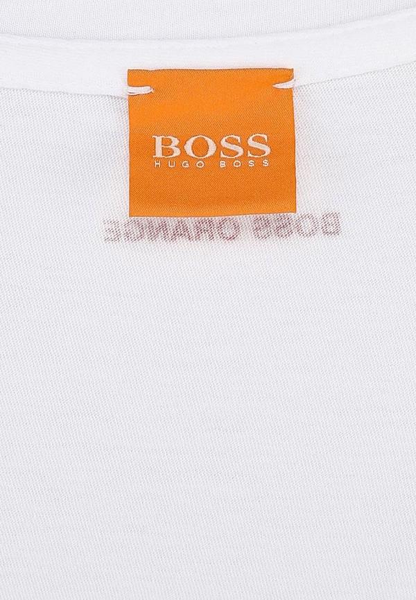 Футболка с надписями Boss Orange 50262778: изображение 4
