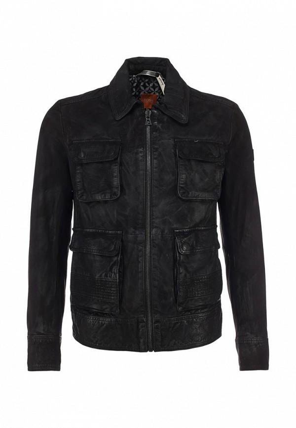 Кожаная куртка Boss Orange 50259732: изображение 1