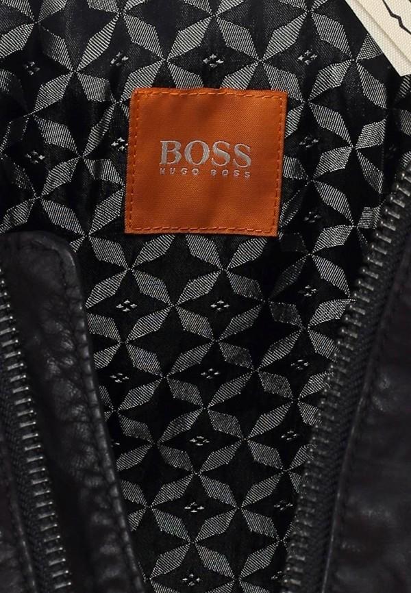 Кожаная куртка Boss Orange 50259732: изображение 4
