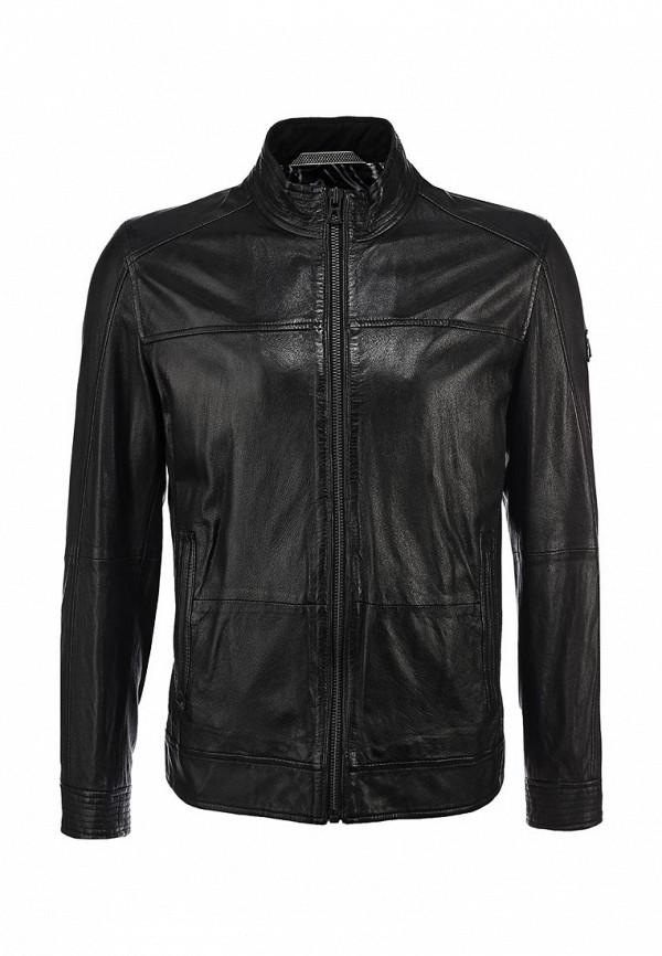 Кожаная куртка Boss Orange 50259744: изображение 1