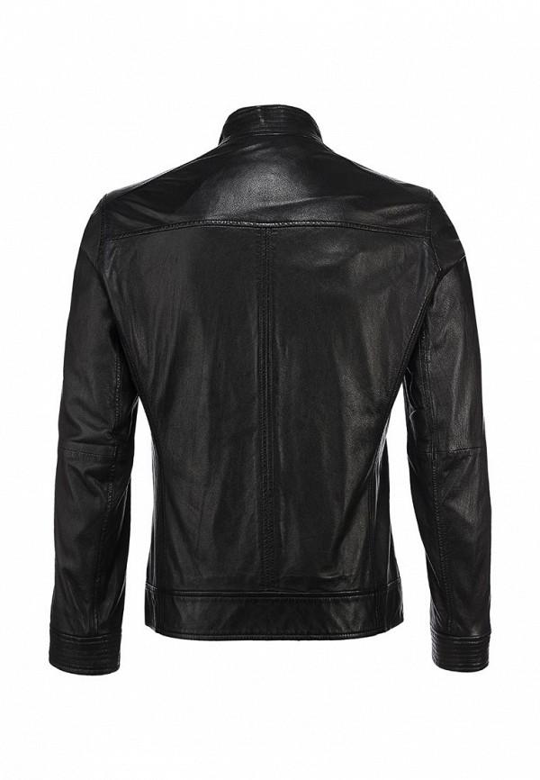 Кожаная куртка Boss Orange 50259744: изображение 3