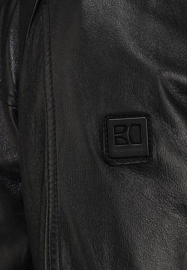 Кожаная куртка Boss Orange 50259744: изображение 13