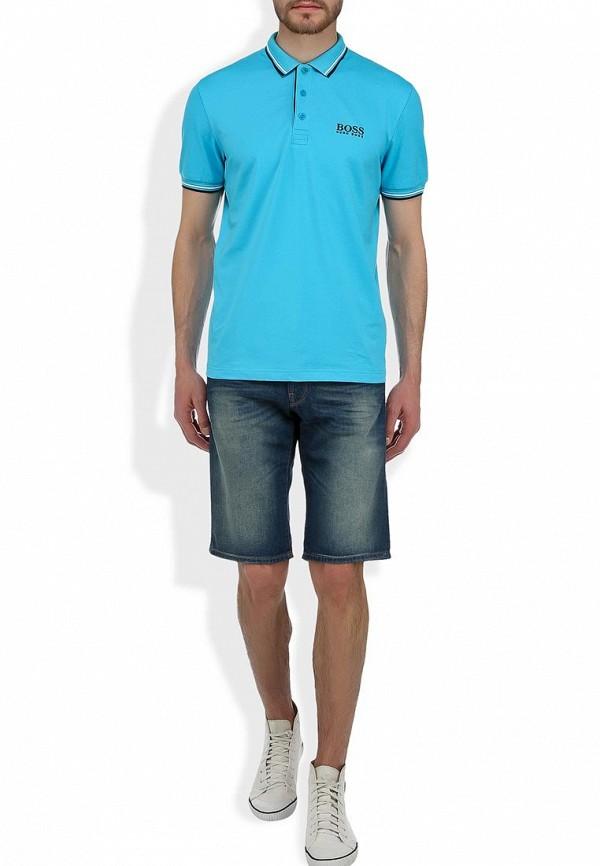 Мужские джинсовые шорты Boss Orange 50260777: изображение 5